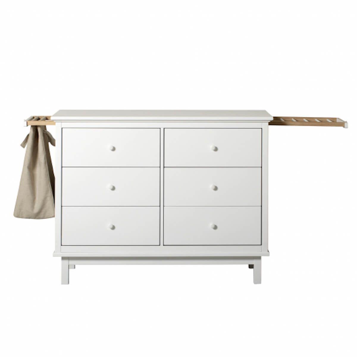 2 supports coulissants-sac à linge SEASIDE Oliver Furniture