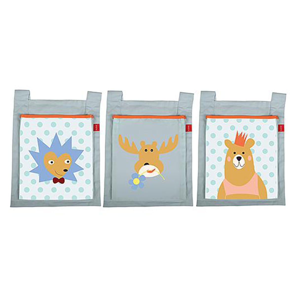 3 poches de lit enfant FOREST Flexa