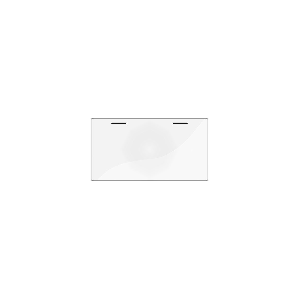 ACCESSOIRES by Flexa Sous-main Transparent pour bureau inclinable