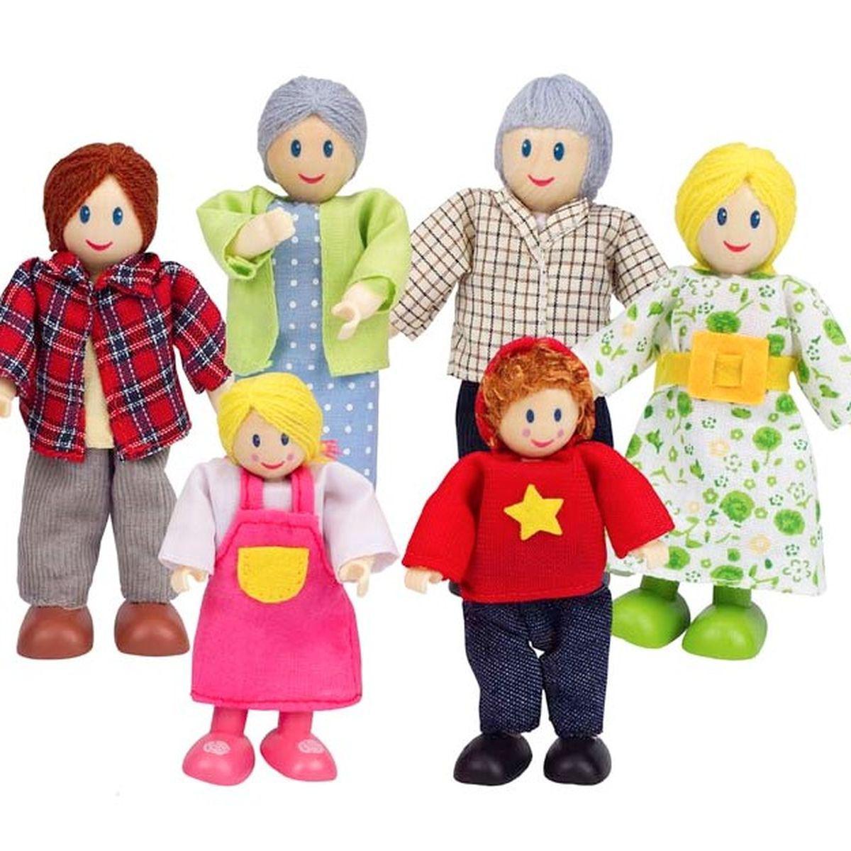 Accessoires maison de poupées famille HAPPY FAMILY Hape