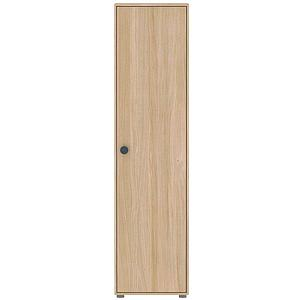 Armoire 1 porte 202cm POPSICLE Flexa chêne-blueberry
