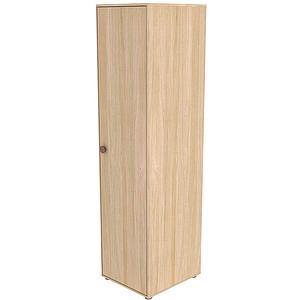 Armoire 1 porte 202cm POPSICLE Flexa chêne-cherry
