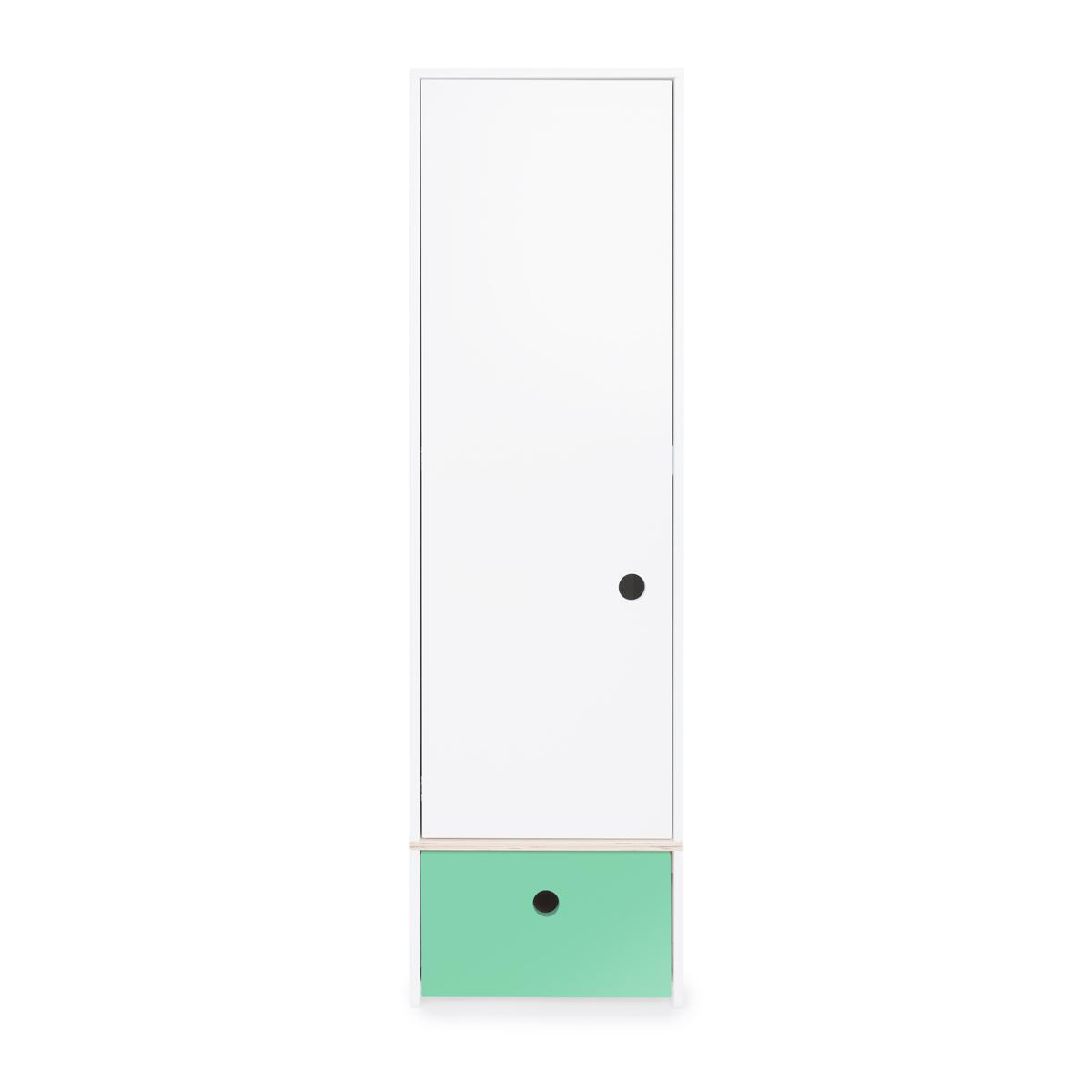 Armoire 1 porte COLORFLEX façade tiroir seafoarm
