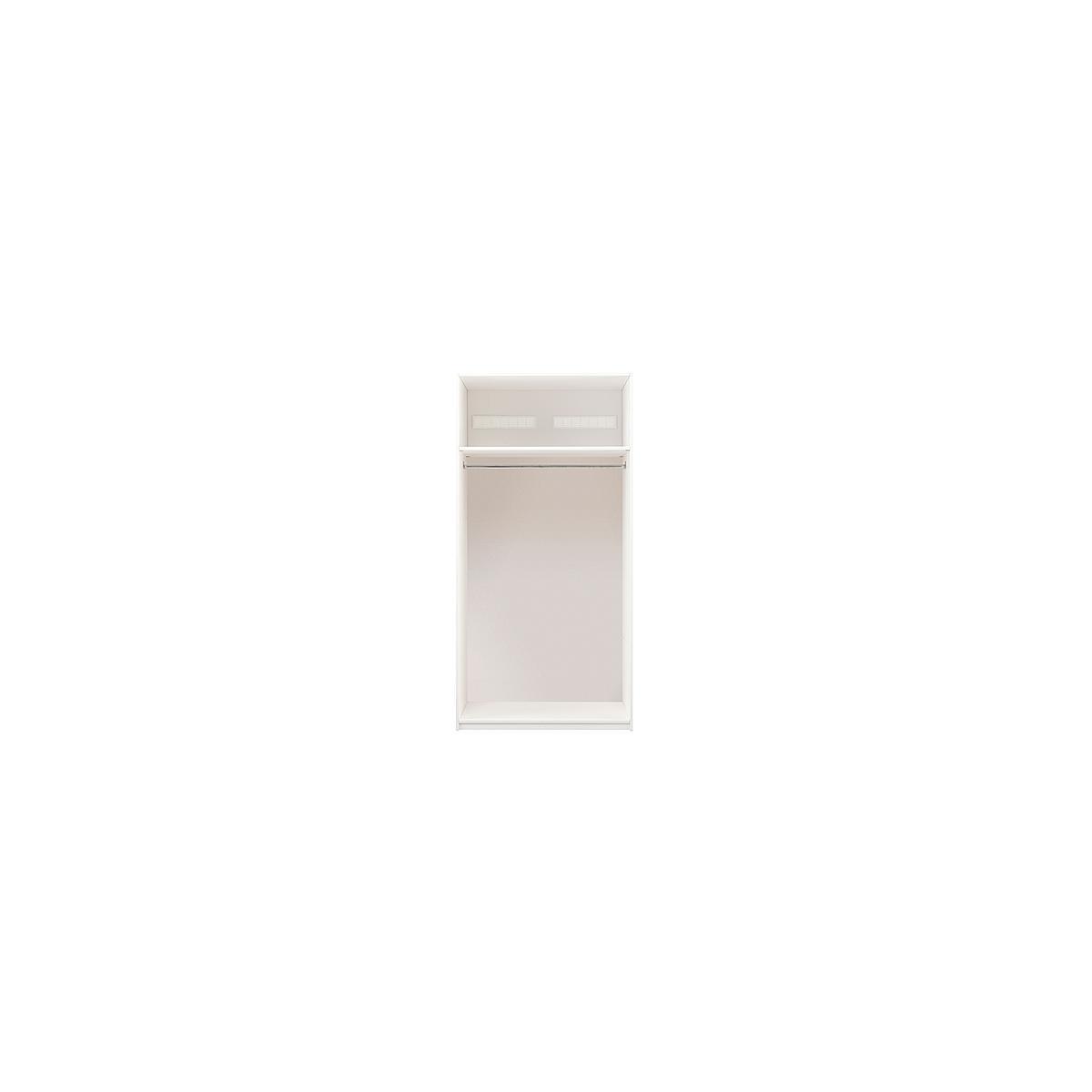 Armoire 100cm Lifetime blanc (sans portes)