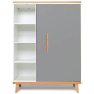 Armoire 120cm 1 porte NADO slate grey
