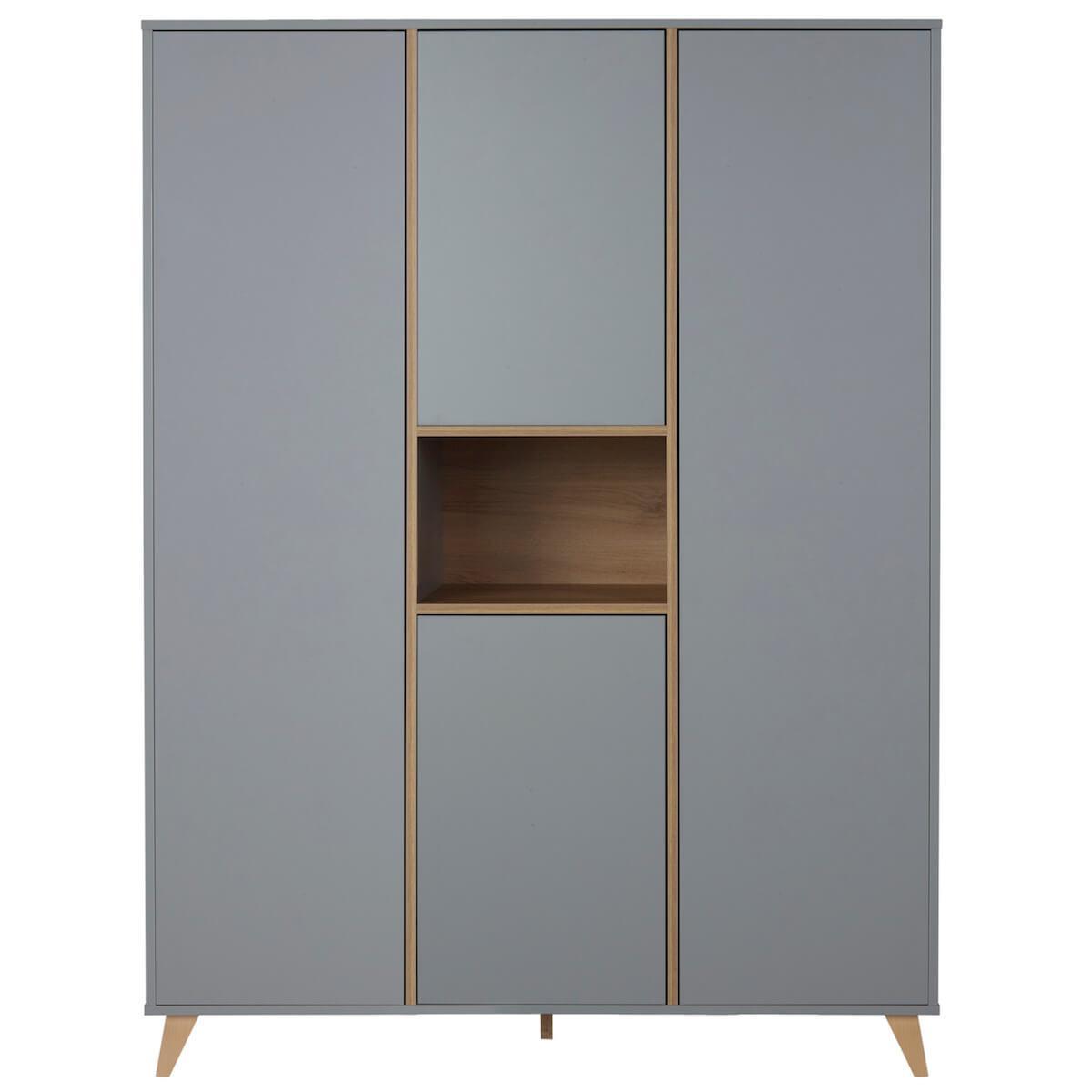 Armoire 143x190cm LOFT  Quax gris