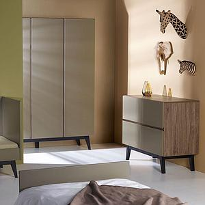 Armoire 152x198cm TRENDY Quax royal Oak