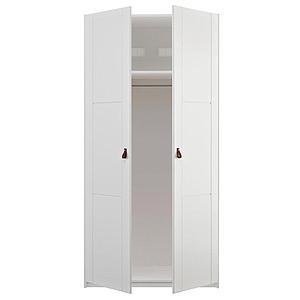 Armoire 2 portes 104x200cm Lifetime blanc