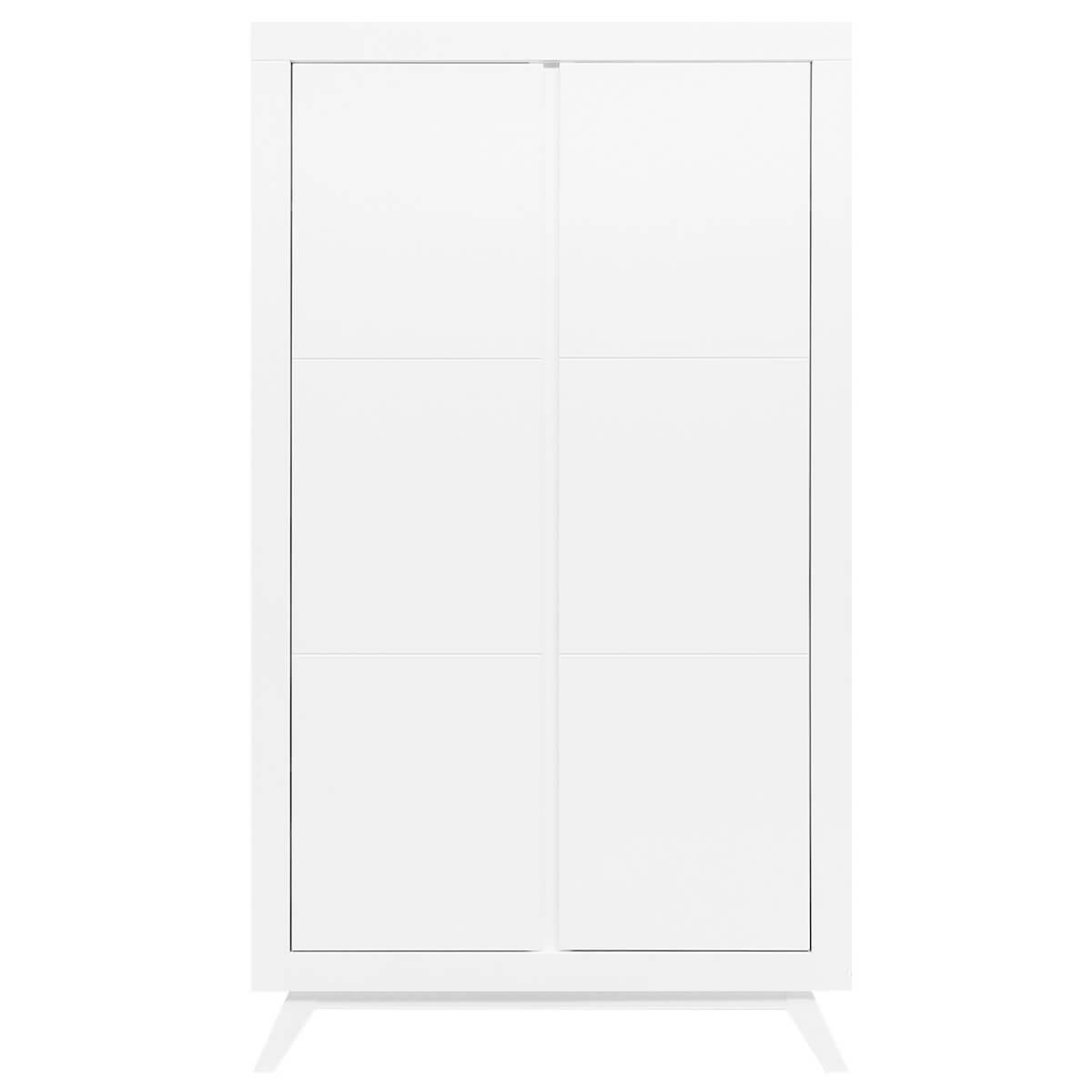 Armoire 2 portes ANNE Bopita blanc