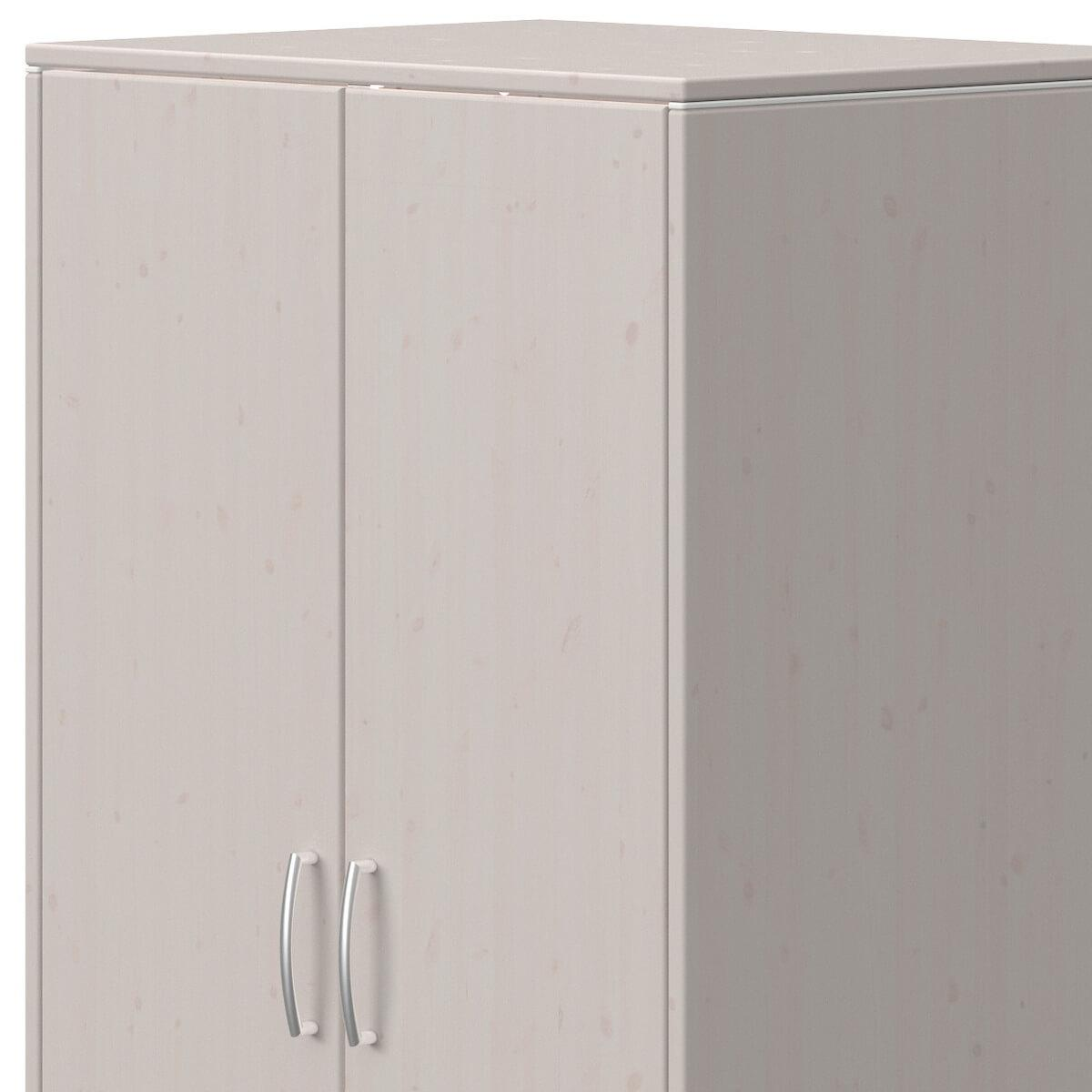 Armoire 2 portes CLASSIC Flexa grey washed
