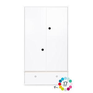 Armoire 2 portes hors façade tiroir COLORFLEX Abitare Kids
