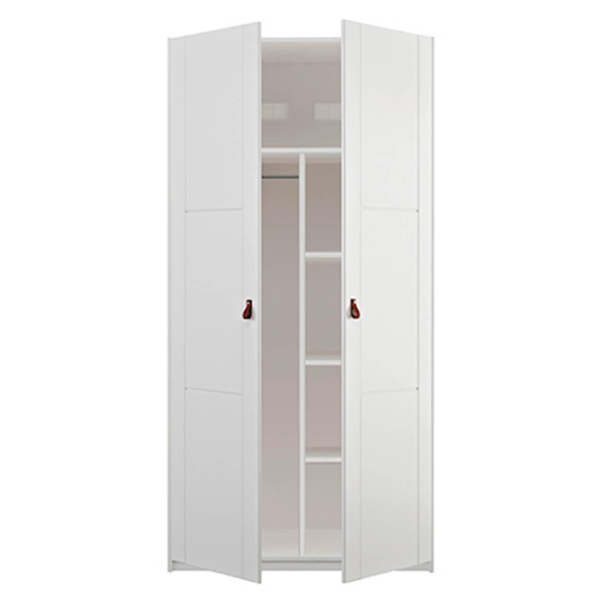 Armoire 2 portes Lifetime blanc