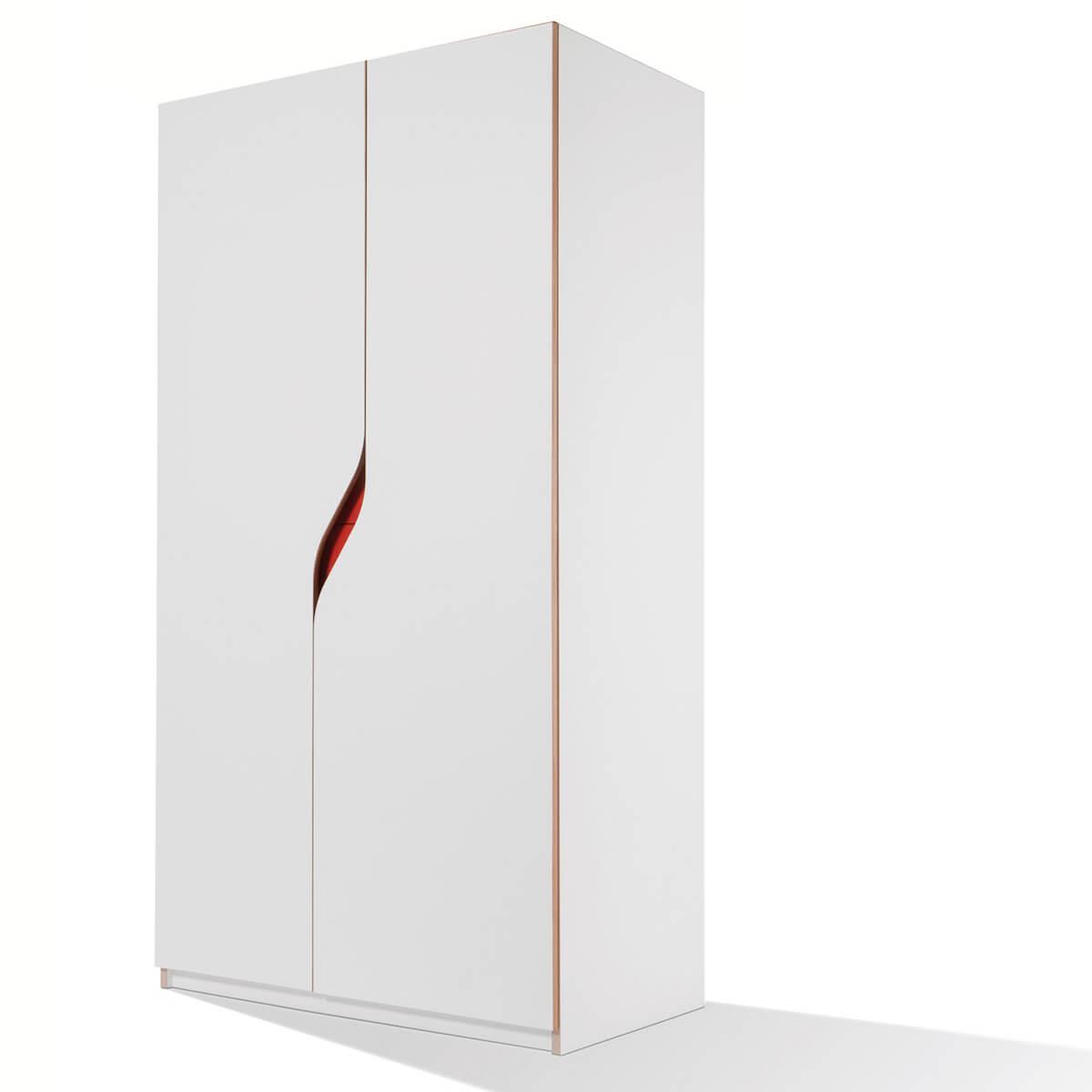 Armoire 2 portes PLANE Mueller blanc