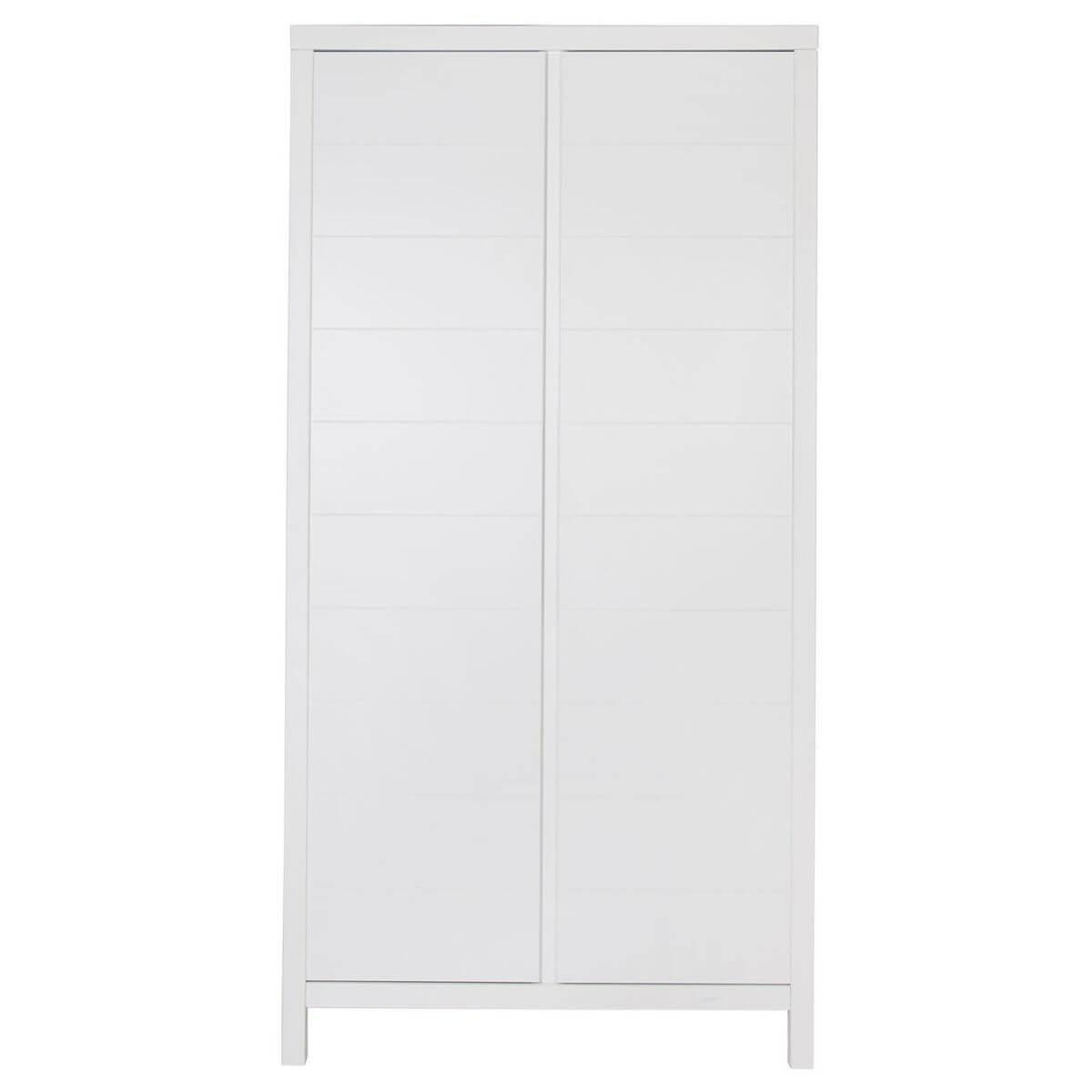 Armoire 2 portes STRIPES Quax blanc
