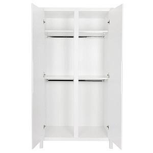 Armoire 2 portes STRIPES Quax blanc