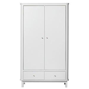 Armoire 2 portes WOOD Oliver Furniture blanc
