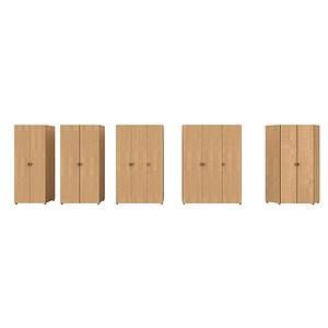 Armoire 3 portes 150cm DELUXE de Breuyn bois huilé