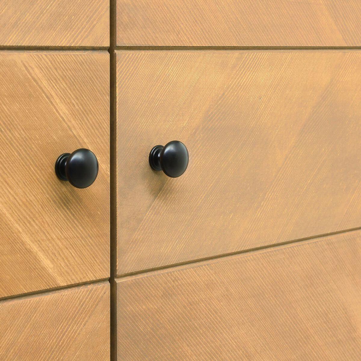 Armoire 3 portes JOB Bopita vintage honey