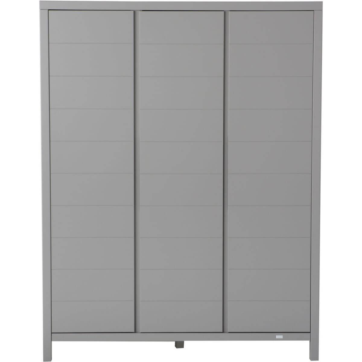 Armoire 3 portes STRIPES Quax Griffin grey