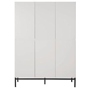 Armoire 6 portes HAVANA Quax blanc
