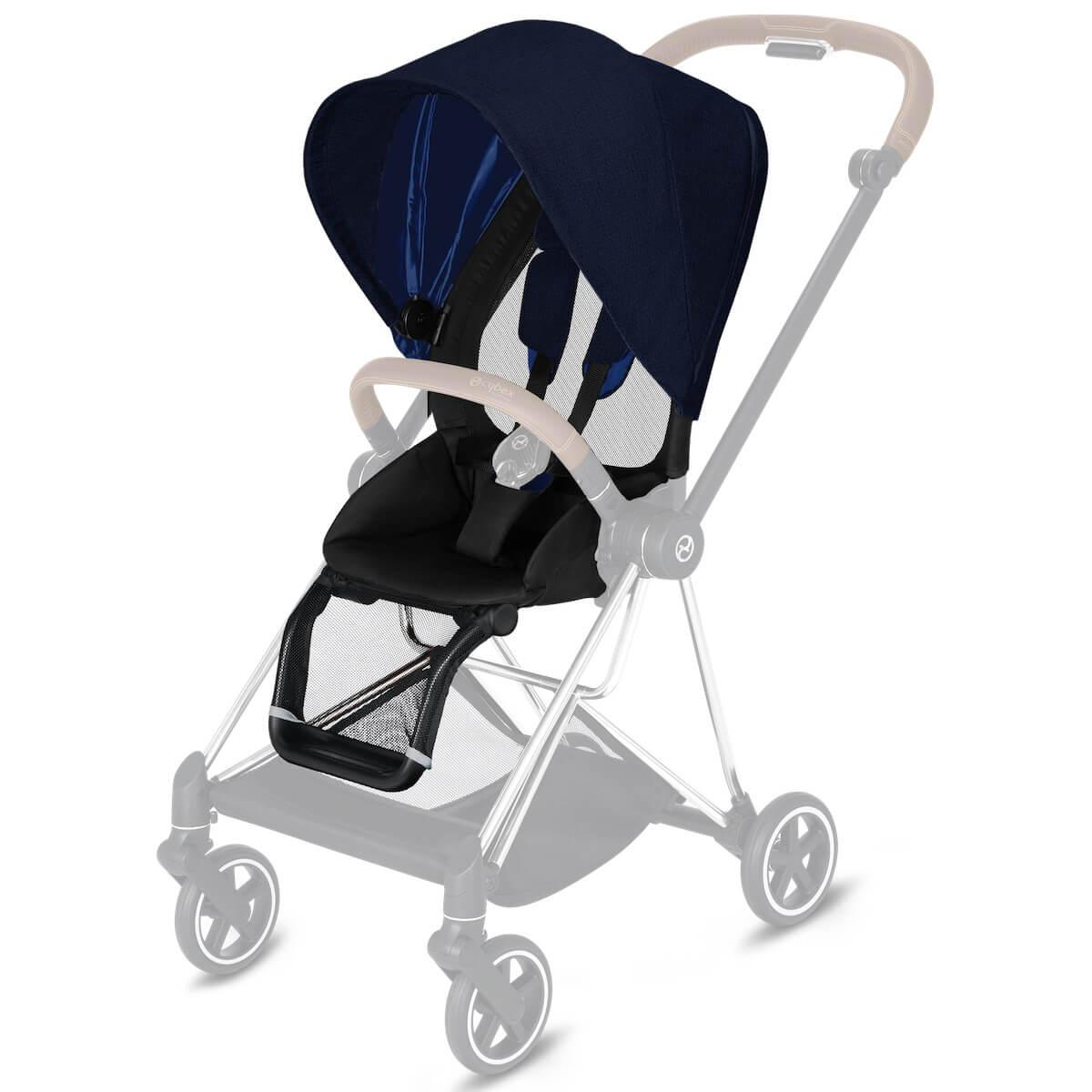 Assise-habillage poussette MIOS Cybex Plus Midnight Blue Plus-navy blue