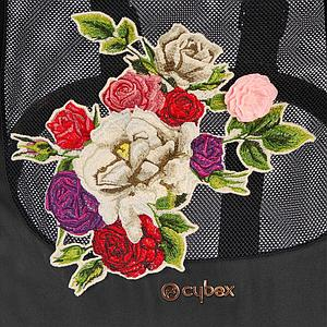 Assise-habillage poussette MIOS Cybex Spring Blossom Dark-black