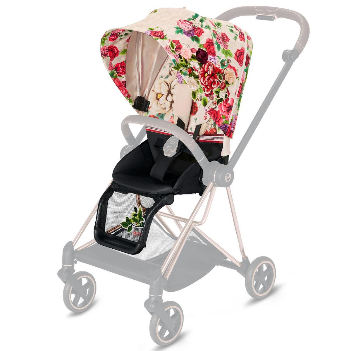 Assise-habillage poussette MIOS Cybex Spring Blossom Light-light beige