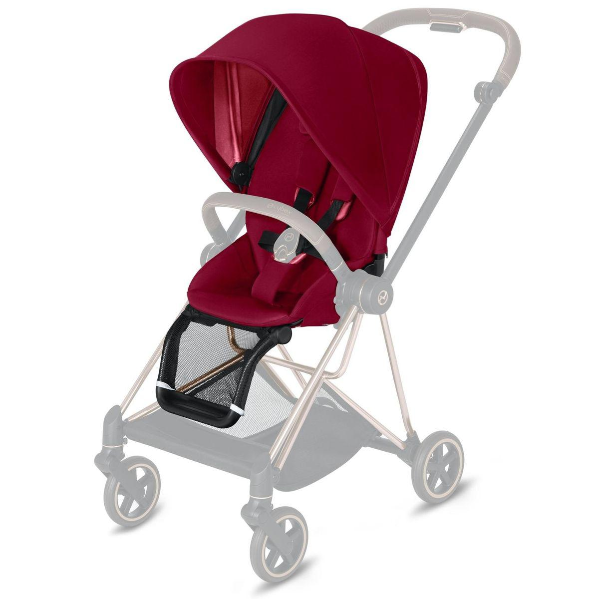 Assise-habillage poussette MIOS Cybex true red-red