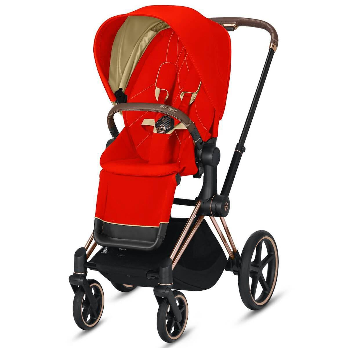 Assise-habillage poussette PRIAM Cybex Autumn Gold-burnt red