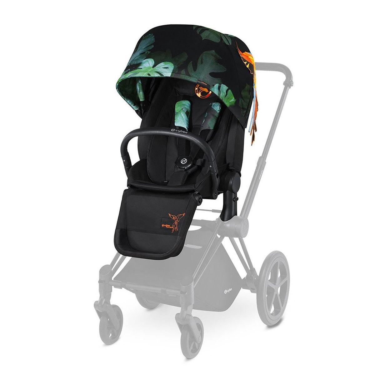 Assise-habillage poussette PRIAM Cybex birds of paradise-multicolor