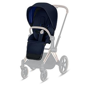 Assise-habillage poussette PRIAM Cybex indigo blue-navy blue