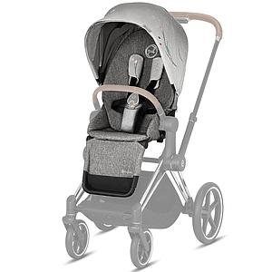 Assise-habillage poussette PRIAM Cybex koi-mid grey