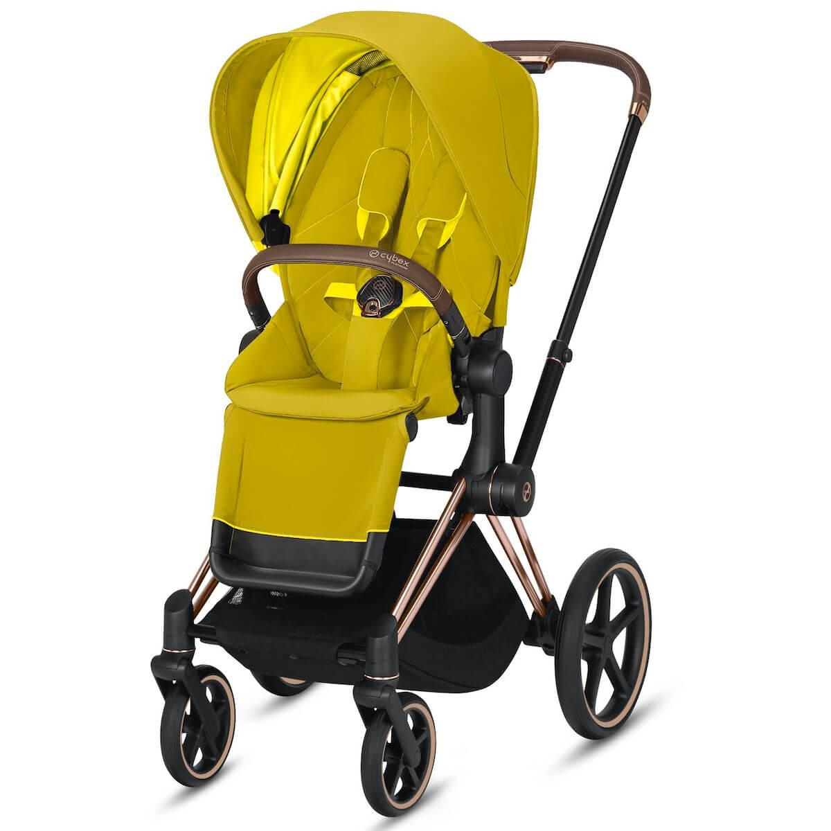 Assise-habillage poussette PRIAM Cybex Mustard yellow-yellow