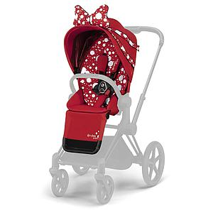 Assise-habillage poussette PRIAM Cybex Petticoat Red dark red