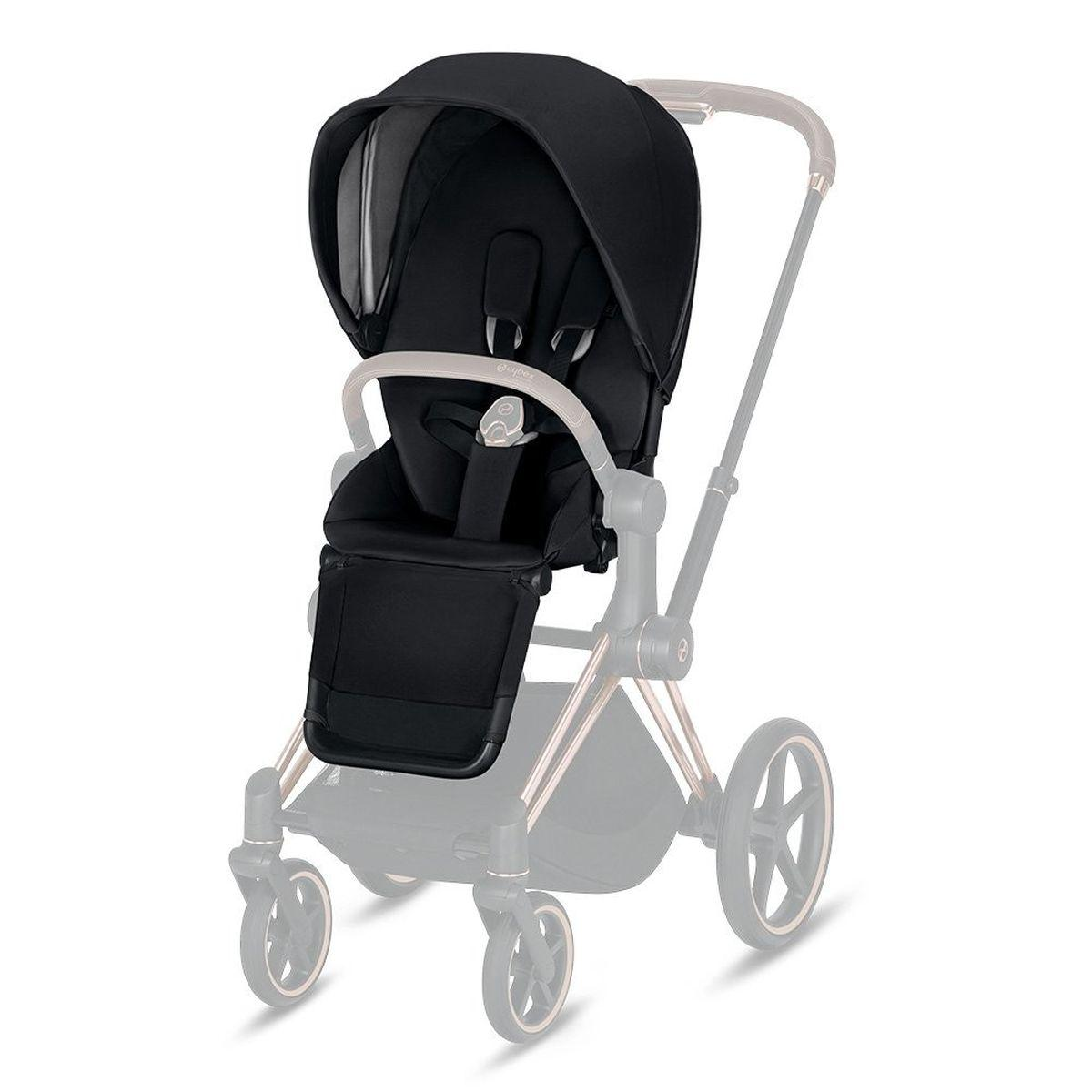Assise-habillage poussette PRIAM Cybex premium black-black