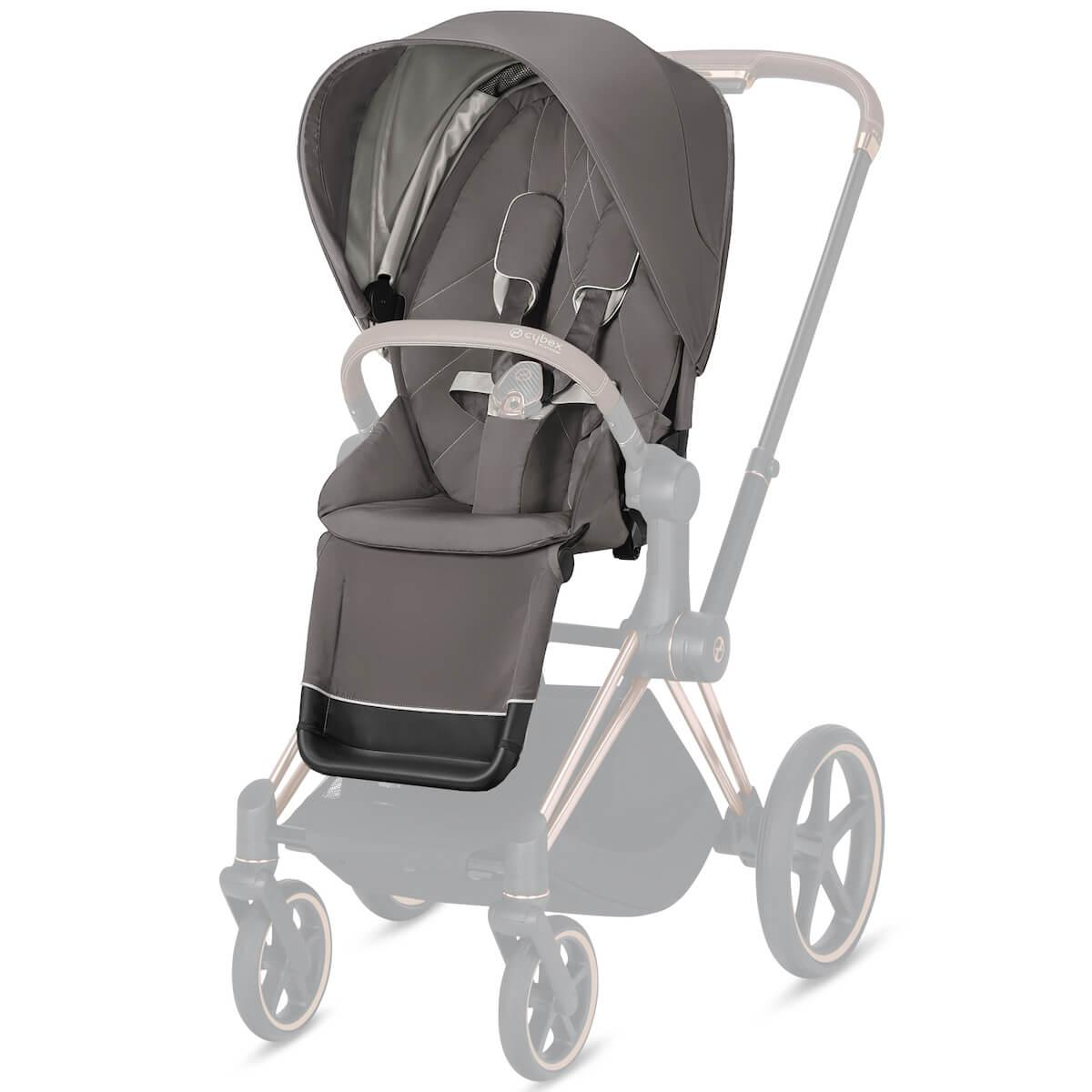 Assise-habillage poussette PRIAM Cybex Soho grey-mid grey