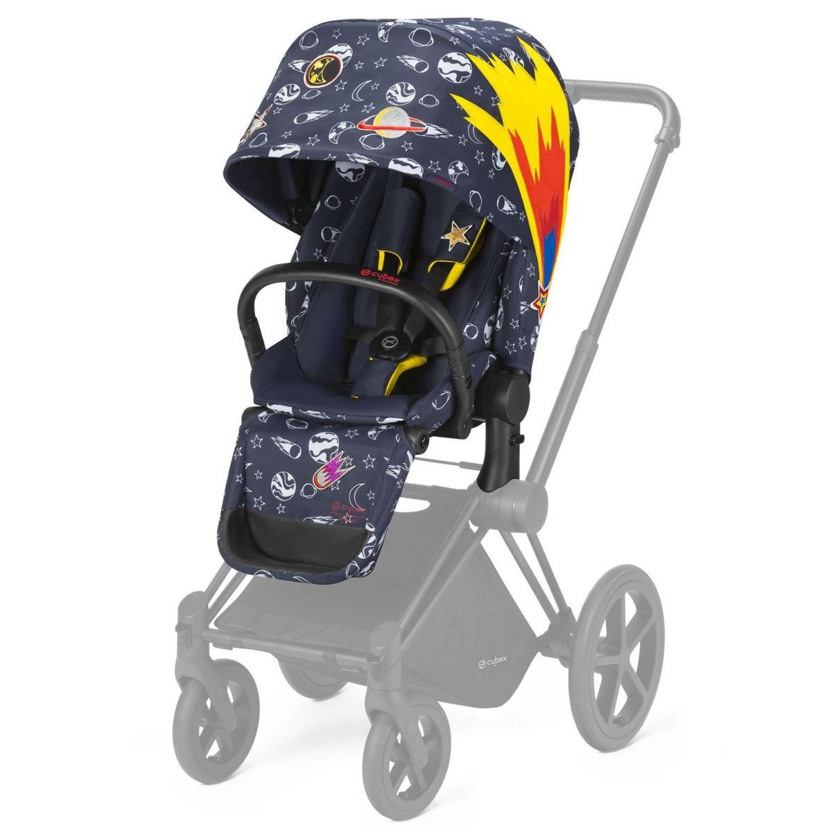 Assise-habillage poussette PRIAM Cybex space rocket-navy blue