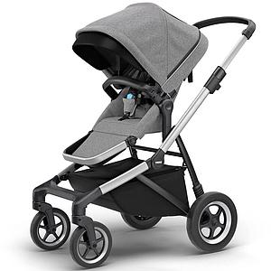 Assise-poussette SLEEK Thule grey melange