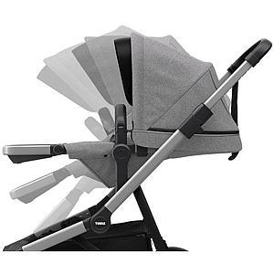 Assise-poussette SLEEK Thule grey melange