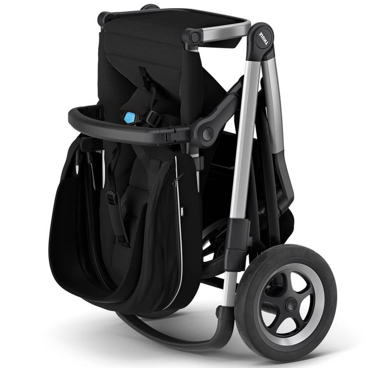 Assise-poussette SLEEK Thule midnight black
