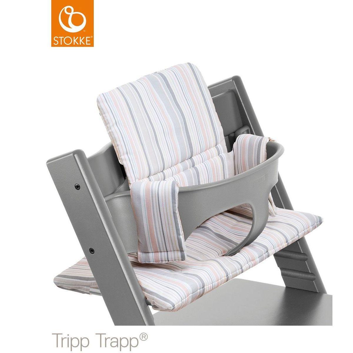 Tripp lu Kids TempêteAbitare Baby Set Trapp Stokke Chaise Haute Gris JFK1cTl