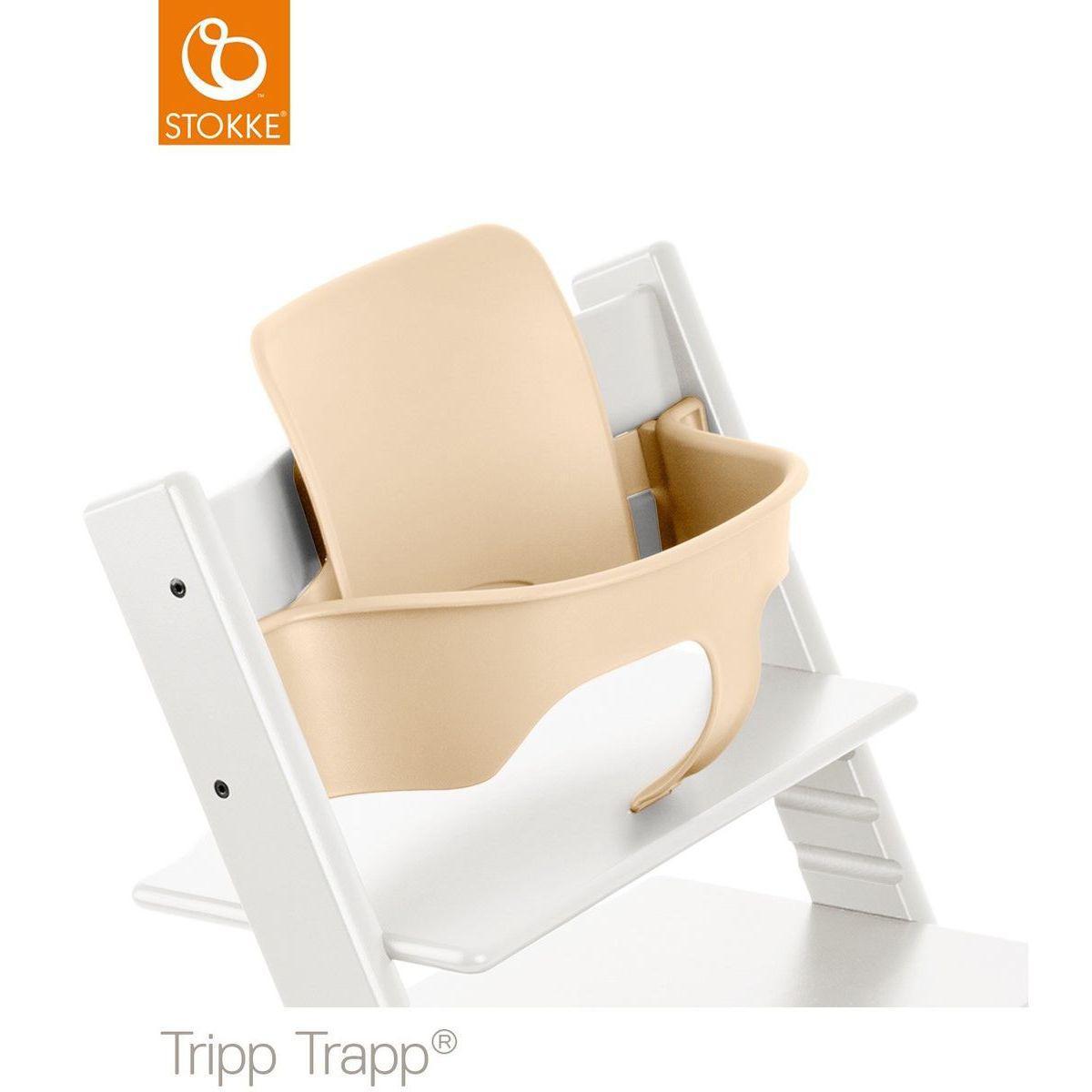 Baby set chaise haute TRIPP TRAPP Stokke naturel