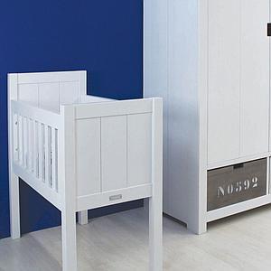 BASIC WOOD by Bopita Armoire 2 portes XL chambre d'enfant