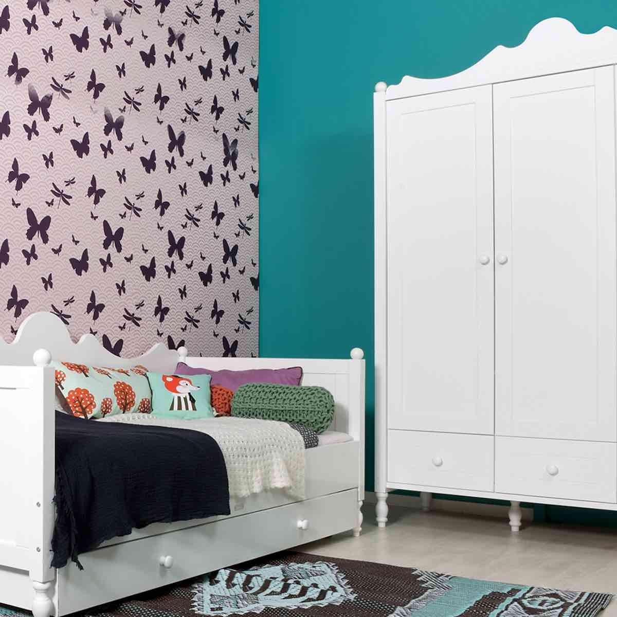 BELLE by Bopita Armoire 3 portes + 3 tiroirs