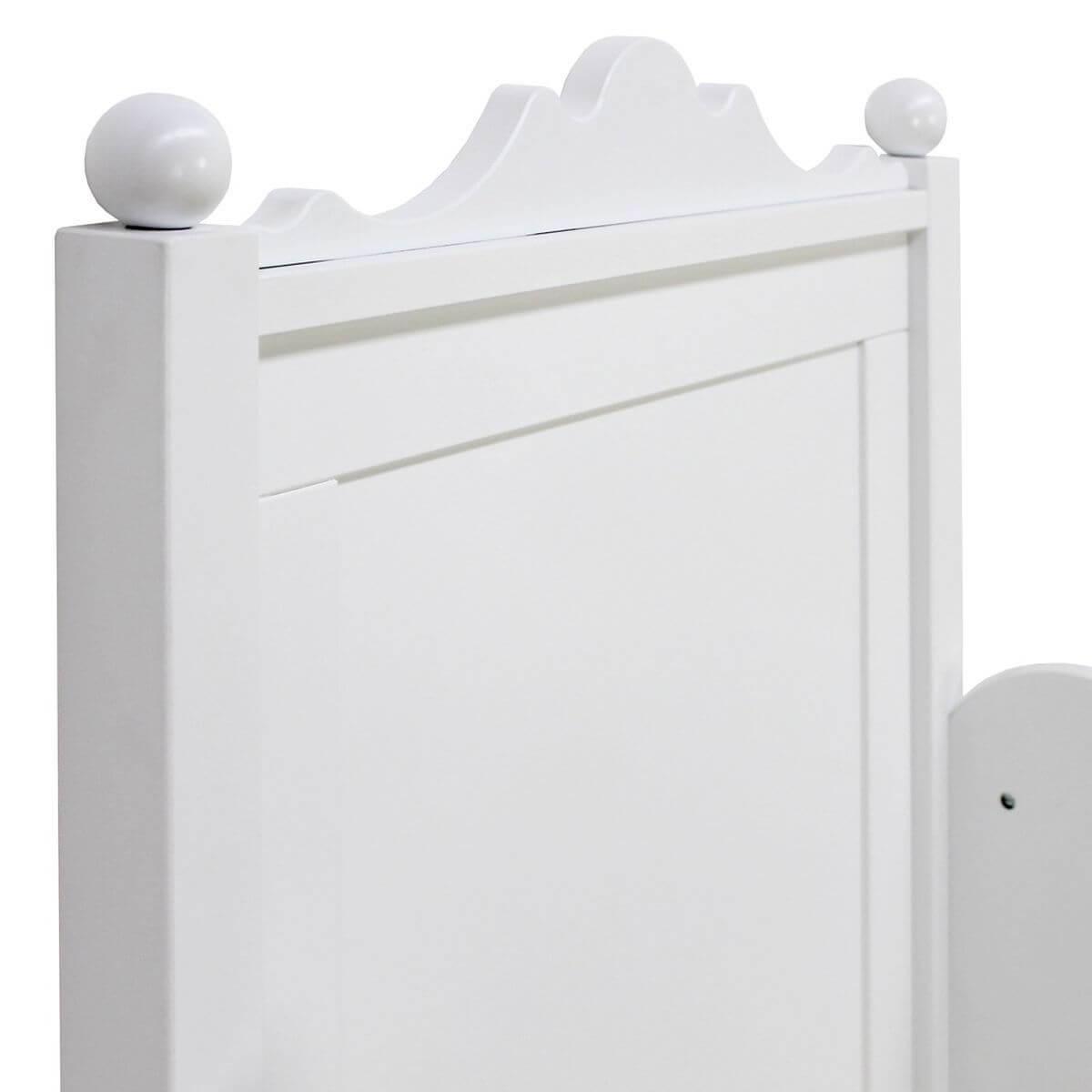 BELLE by Bopita Lit enfant 90x200 cm Blanc