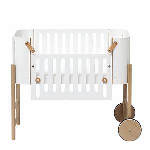 Berceau évolutif 42x82cm CODODO Oliver Furniture chêne-blanc