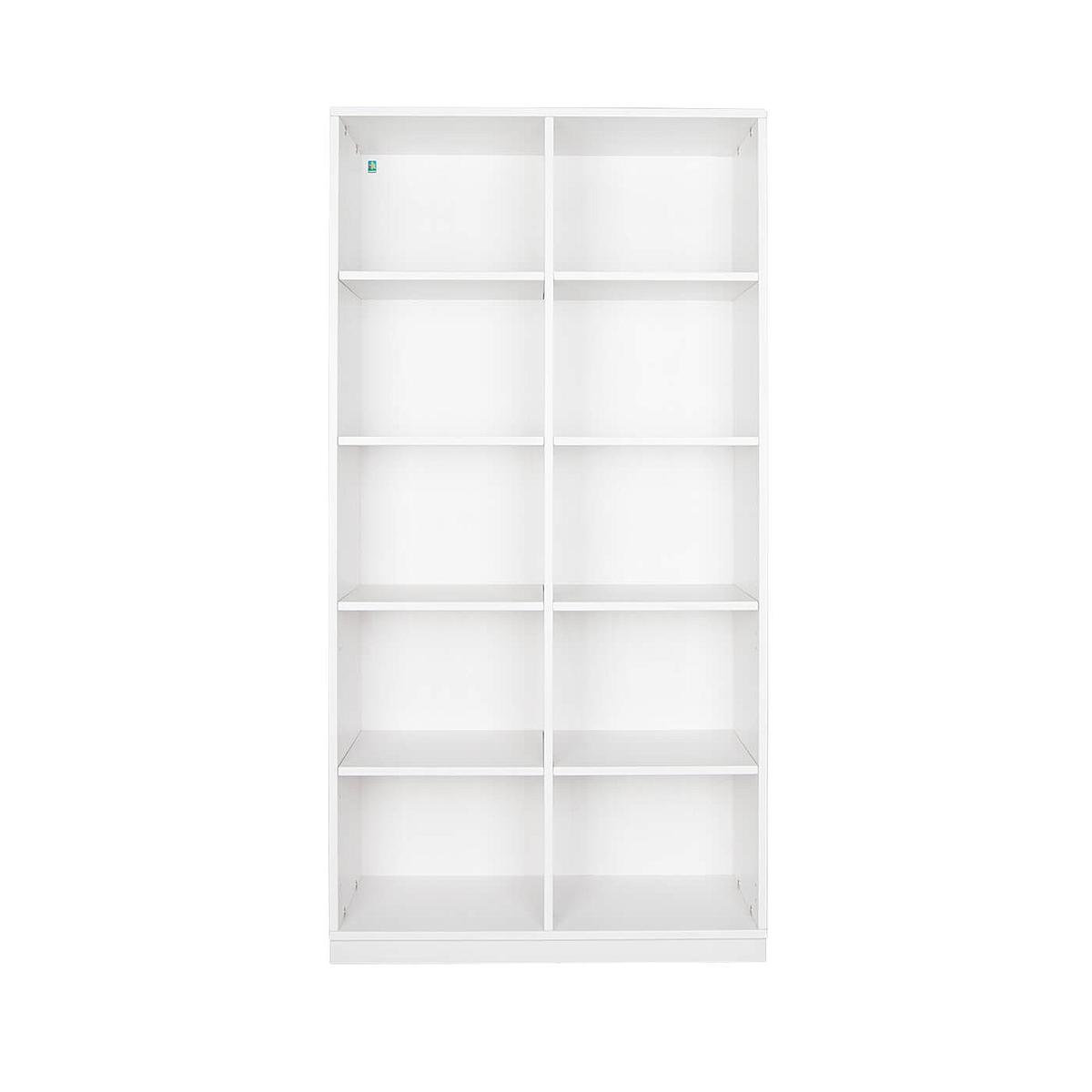 Bibliothèque 184cm DESTYLE de Breuyn blanc
