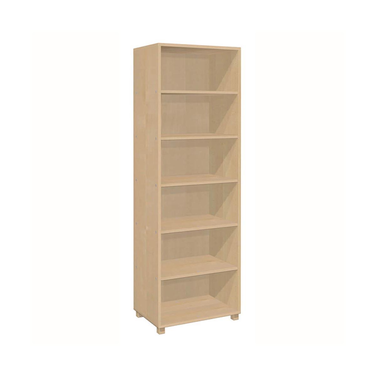 Bibliothèque 4 compartiments DELUXE de Breuyn bois huilé
