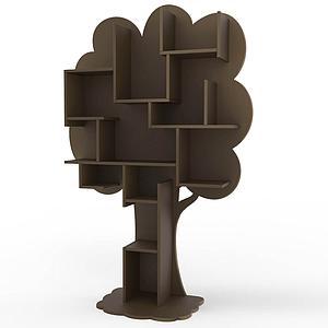 Bibliothèque arbre LOUANE Mathy by Bols artichaut