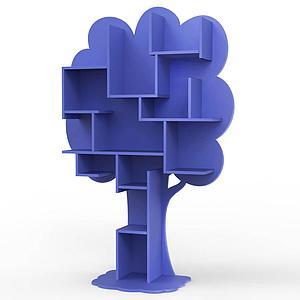 Bibliothèque arbre LOUANE Mathy by Bols bleu marseille